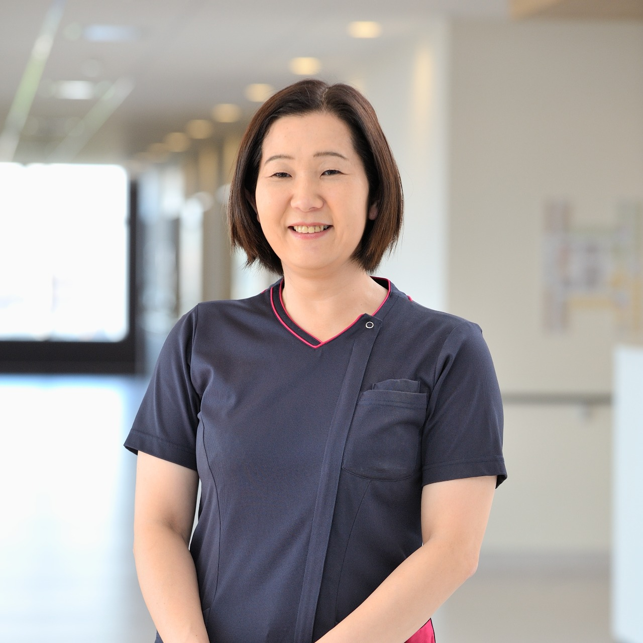 目黒 由夏 がん化学療法看護認定看護師/2003年入職