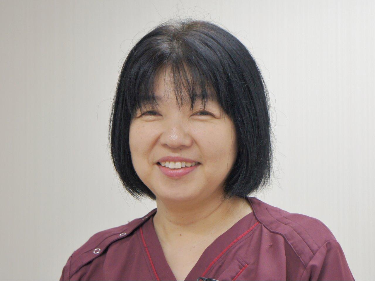 看護部長 工藤 美奈子