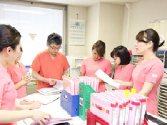 看護計画のカンファレンス