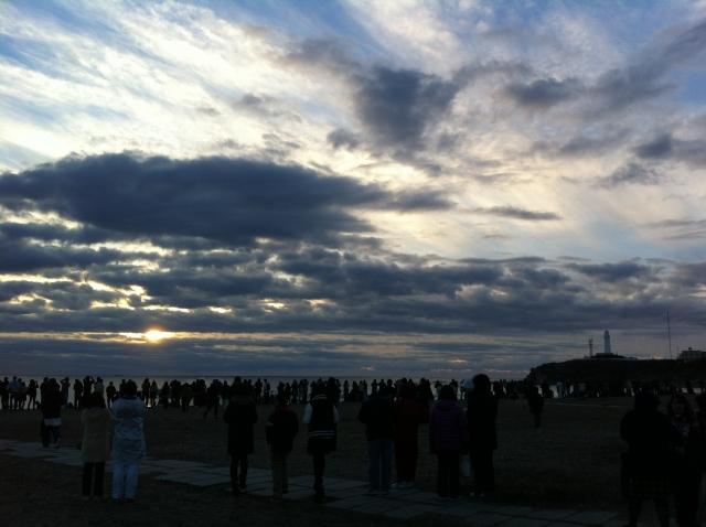 犬吠埼の初日の出