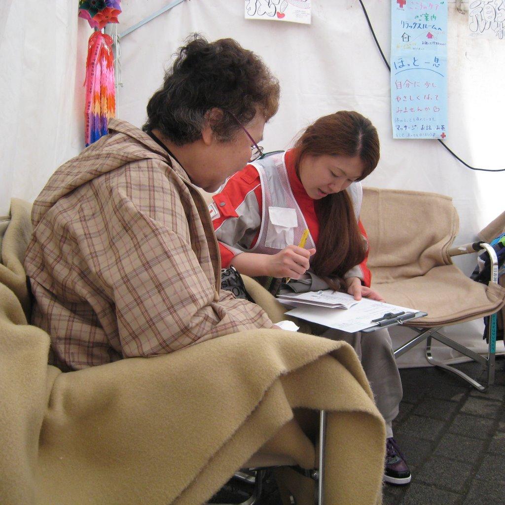 東日本大震災救護